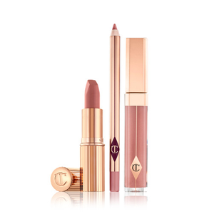 The Pillow Talk Lip Kit by Charlotte Tilbury
