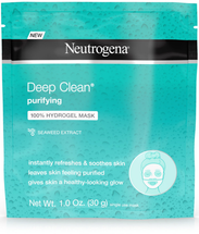 Deep Clean Purifying 100% Hydrogel Face Mask by Neutrogena