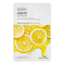 Real Nature Face Sheet Lemon by The Face Shop