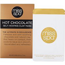 Hot Chocolate Self Heating Creme Mask by miss spa