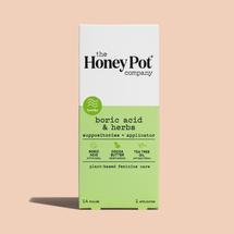 Boric Acid & Herbs Suppositories by The Honey Pot Company