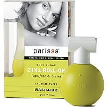 Washable Body Sugar In Roll On Hair Remover by parissa