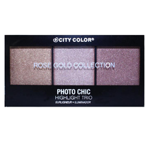 Photo Chic Highlight Trio - Rose Gold Collection by city color