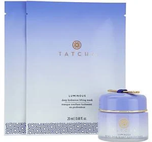 Luminous Dewy Skin Night Concentrate & Sheet Masks by Tatcha