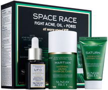Space Race Fight Acne, Oil + Pores At Warp Speed Kit by Sunday Riley