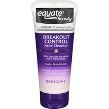 Breakout Control Acne Cleanser Daily Treatment by equate