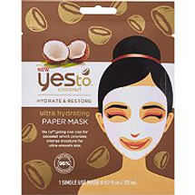 Coconut Ultra Hydrating Paper Mask by yes to