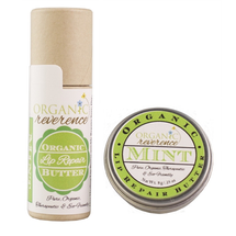 Organic Lip Butter & Balm Double Mint by Organic Reverence