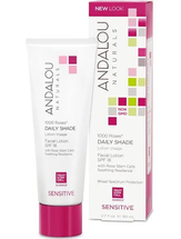 1000 Roses Daily Shade Facial Lotion SPF 18 by andalou naturals