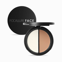 Face Highlighter Bronzer Duo by Focallure