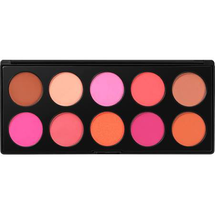 Professional Blush - 10 Color Blush Palette by BH Cosmetics