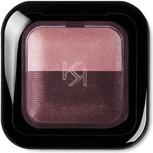 Bright Duo Baked Eyeshadow - Satin Ancient Rose/Matte Wine by Kiko Milano