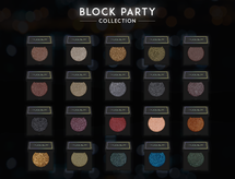 Block Party Single Eyeshadow Collection Set by Dose of Colors