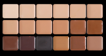 HD Glamour Creme Super Palette - Neutral by graftobian