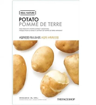 Real Nature Face Mask Potato by The Face Shop