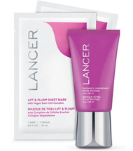 Limited Edition Plump & Brighten Mask Set by lancer
