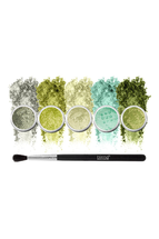 Natural World Of Green Eyeshadow 6-Piece Set by Blend Mineral Cosmetics