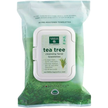 Tea Tree Cleansing Facial Towelettes by earth therapeutics