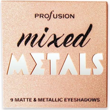 Mixed Metals Matte & Metalic Eyeshadows by Profusion