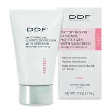 Mattifying Oil Control Moisturizer With Sunscreen SPF 15 by ddf