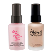 No Pore Blem Primer  + Advanced Real Moisture Liquid Foundation by Touch In Sol