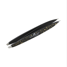 Z-Tweeze Dual Ended Tweezer – Galaxy Gold by FARAH Brushes