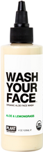WASH YOUR FACE Certified Organic Aloe Face Wash by Plant Apothecary