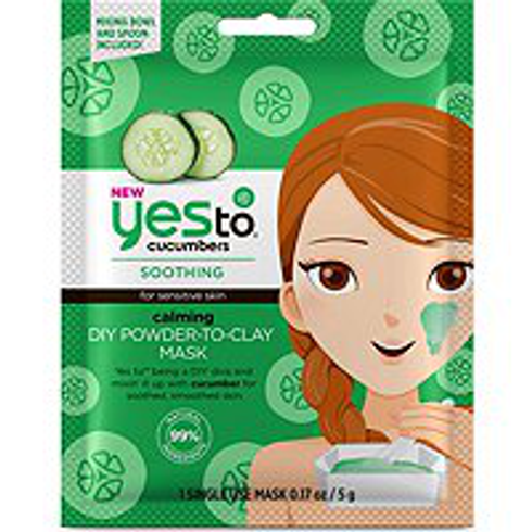 Cucumbers Calming DIY Powder To Clay Mask by yes to #2