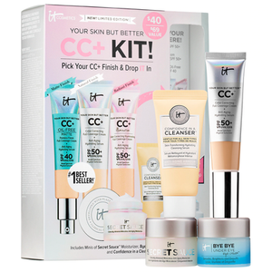 Your Skin But Better CC+ Kit! Pick Your CC+ & Drop IT In by IT Cosmetics