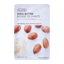 Real Nature Mask Sheet Shea Butter by The Face Shop