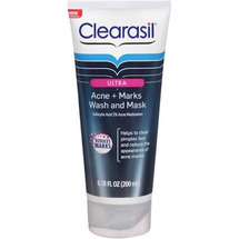 Ultra Acne + Marks Wash And Mask Salicylic Acid 2% Acne Medication by clearasil