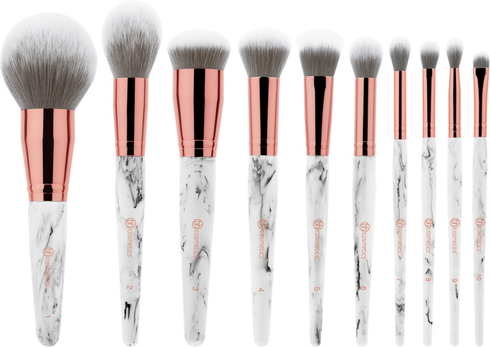 Marble Luxe 10 Piece Brush Set by BH Cosmetics #2