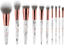 Marble Luxe 10 Piece Brush Set by BH Cosmetics