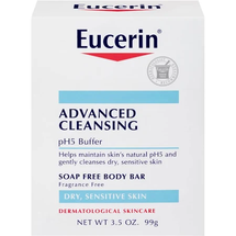 Body Bar Soap Free Advanced Cleansing by eucerin