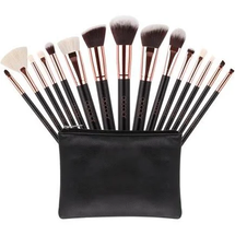 15 Piece Makeup Brush Sets by Docolor