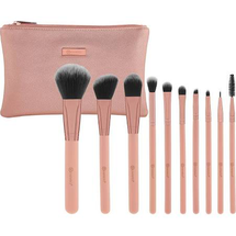 Pretty In Pink 10-Piece Brush Set by BH Cosmetics