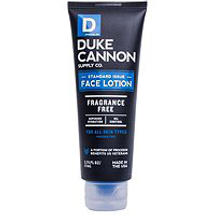 Standard Issue Face Lotion by duke cannon supply co