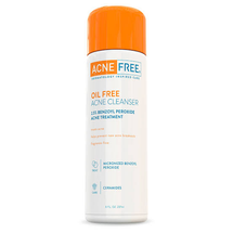Oil Free Acne Face Wash with 2.5% Micronized Benzoyl Peroxide by acnefree