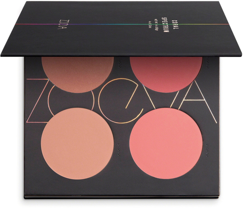 Coral Spectrum Blush Palette by zoeva #2