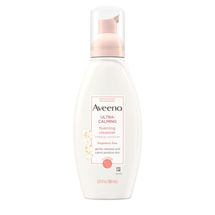 Ultra Calming Foaming Facial Cleanser by Aveeno