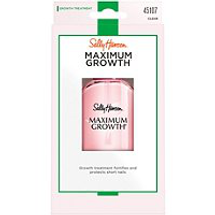 Maximum Growth Plus Nail Color 33 Crystal Clear by Sally Hansen