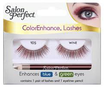 Color Enhance Lashes Wine by salon perfect