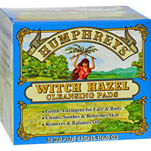 Witch Hazel Cleansing Pad by Humphreys