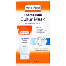 Sulfur Mask With Vitamin C Copper Acne Treatment Each by acnefree