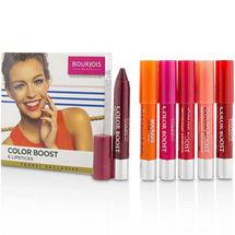 Color Boost Glossy Finish Lipstick Set by Bourjois