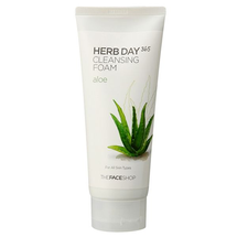 Herb Day 365 Aloe Cleansing Foam by The Face Shop