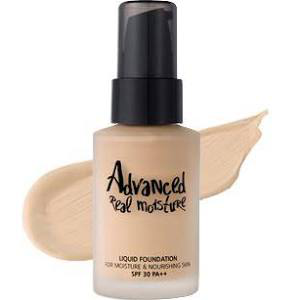 Advanced Real Moisture Liquid Foundation by Touch In Sol