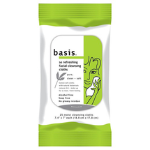 Wipe Basic Cleansing Facial Cleansing Wipes by basis