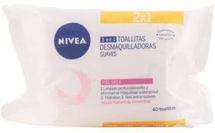 Gentle Cleansing Wipes Dry Skin by Nivea