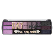 Day To Night 12 Color Eyeshadow - Daybreak by L.A. Colors